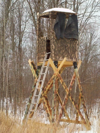 Viewing a thread building a wooden box blind for Wood deer blinds